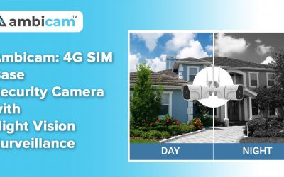 Ambicam: 4G SIM Card Security Camera Night Vision Surveillance