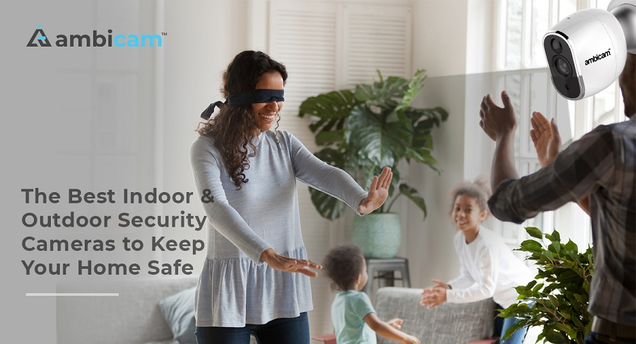 Indoor and Outdoor Security Camera for Home