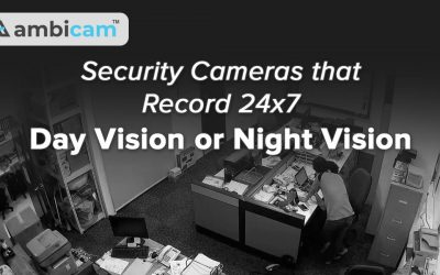 Security Cameras that Record 24/7 Day Vision or Night Vision