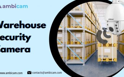 Easily monitor all activities with Warehouse Security Camera